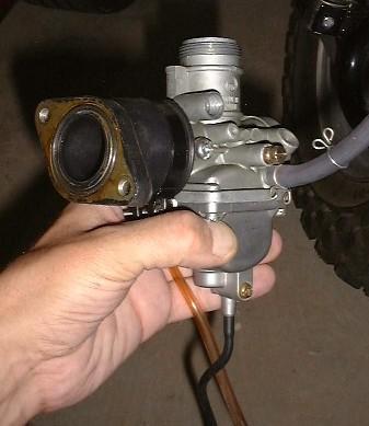 Schema carburateur pw 80